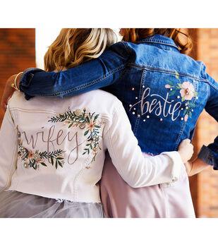 How To Make a Bridal Embellished Jean Jacket