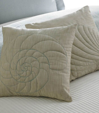 Seashell Silhouette Pillows