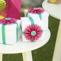 How To Make A Rosette Party Favor Boxes