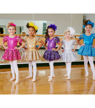 Children's Dance Costumes and Headbands