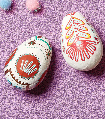 How To Make Paper Mache Eggs