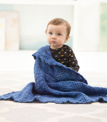 How To Crochet A Dreamy Lace Baby Throw