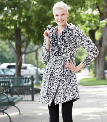 Reversible Fashion Trench Coat