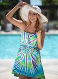 Cool & Colorful No-Sew T-shirt Swimsuit Cover-up