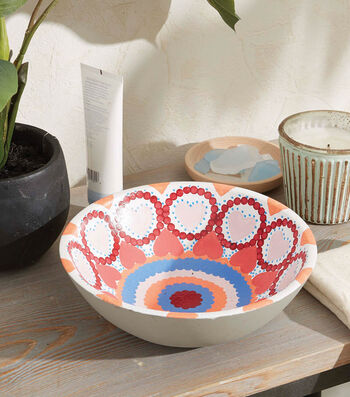 How To Make A Painted Terra Cotta Bowl