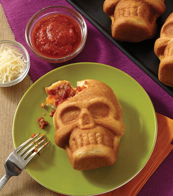 Stuffed Pizza Skull