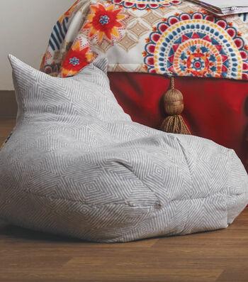 How To Make a Fleece Bean Bag Chair