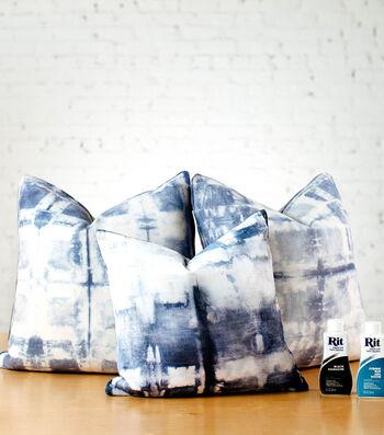 How To Make Shibori Velvet Pillows