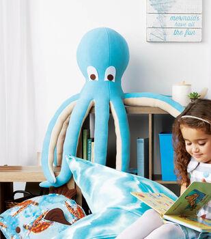 How To Make a Stuffed Fleece Octopus