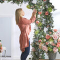 How To Make a Floral Entryway