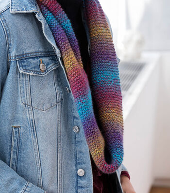 How To Make A Lion Brand Ferris Wheel Cowl With A Twist