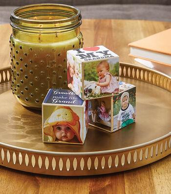 How To Make Photo Adhesive Blocks