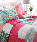 Buttercream Olivia Collection Quilt Bedding