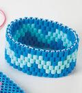 Perler Blue Bracelet