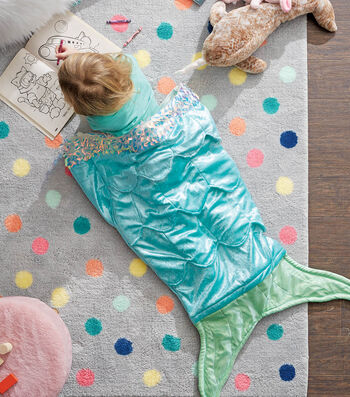 How To Make a Mermaid Tail Blanket