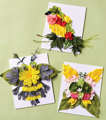 How To Make Petal Paintings