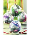 Mirrored Swirl Ornaments