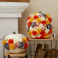 How To Make a Floral Pumpkins