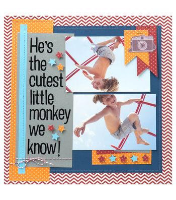 Cutest Little Monkey Layout