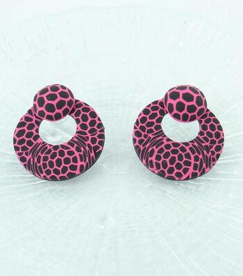 Lace Cane Earrings