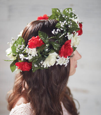 How To Make Roses Garland Crowns