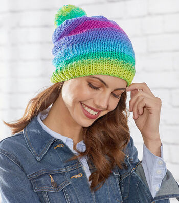 How To Make A Knit Stripes Hat