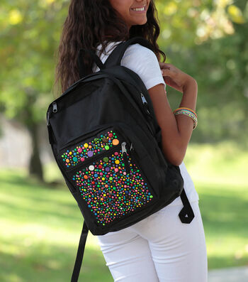 How To Make A Thoughts Of Dots Backpack