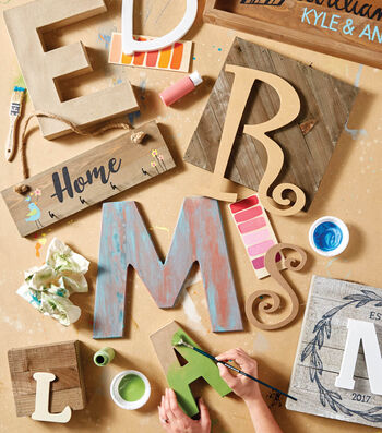 How To Make Wood Anodized Letter