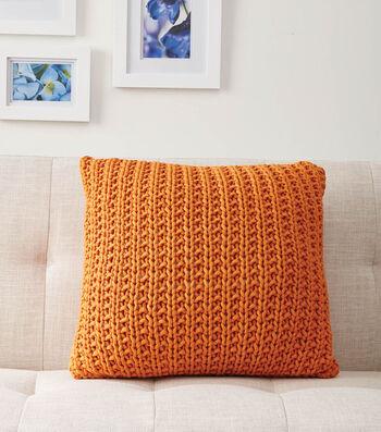 Bernat Down The Line Knit Pillow