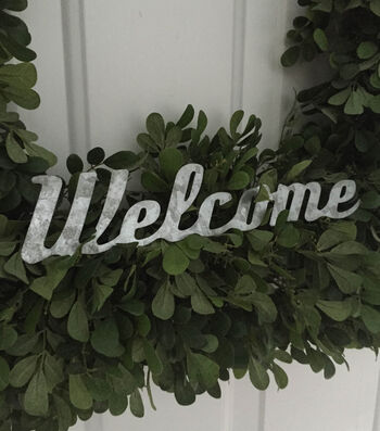 Quick and Easy Welcome Wreath