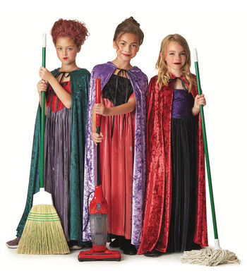 How To Make Witch Sisters Costumes With Patterns