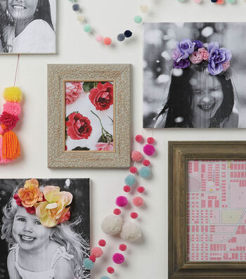 How To Make a Floral Crown Canvas