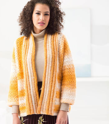 How To Make A Striped Cardi
