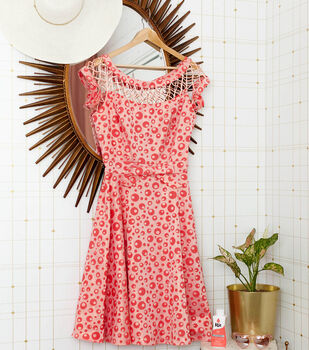 How To Make a Coral Dyed Dress
