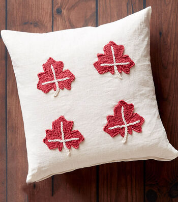 How To Make A Maple Leaf Knit Applique