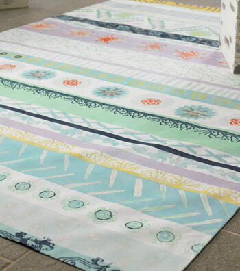 Seascape Floor Cloth