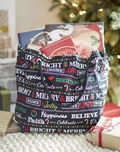 Makers Guide: Christmas Theme Fabric Tote
