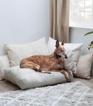 How To Make A Dog Bed Floor Pillow