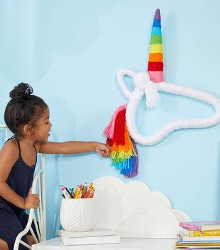 How To Make a Unicorn Wrapped Wall Art