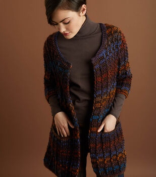 How To Make a Heartland-Landscapes Colorfully Modern Cardigan