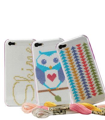 Cross-Stitch Phone Cases