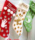 Monogrammed Memories Stockings