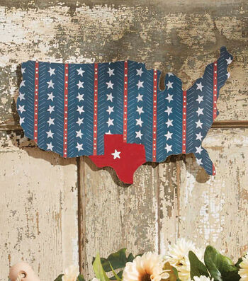 How To Make A Patriotic Americana Wood Sign