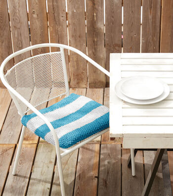 How To Make An Outdoor Take A Seat Knit Chair Pad