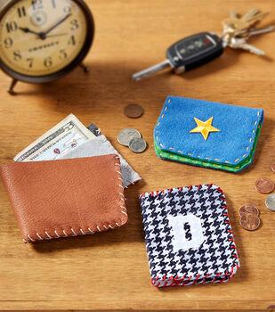 Make A Handmade Wallet