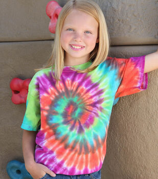 How To Make a Creative Spin Spiral Tie Dye T-Shirt