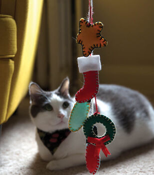 How To Make A Christmas Cat Toy