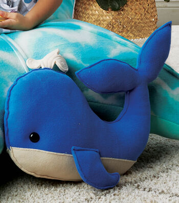 How To Make a Stuffed Fleece Whale