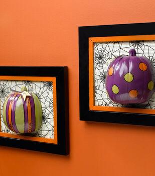 Whimsical 3-D Framed Pumpkins