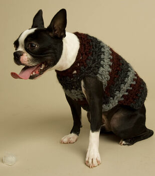How To Make A Striped Dog Sweater